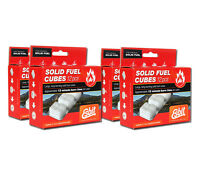 Solid Fuel Cubes 48 pack Esbit 14g Hexamine Tablets for Stove or Fire Starter