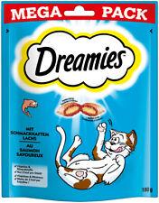 Dreamies Klassiker   Katzensnacks Katzenleckerli Leckerli mit Lachs 180g