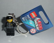 KEY CHAIN Lego The Lego Moive BAD COP NEW with Tags Genuine Lego 850896