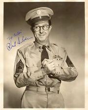 PHIL SILVERS TV's SGT. BILKO 1950's Hit Comedy Series Photograph Autograph 8x10