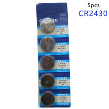 5Pcs 3V Coin Cells Button Battery Cr2430 Dl2430 Br2430 Ecr2430 Kl2430 Ee6229