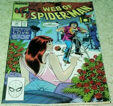 Web of Spider-Man 42, NM- (9.2) 1988 Cult of Love! 60% off Guide!