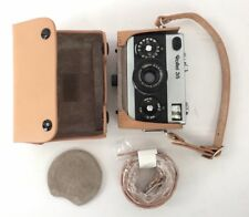 Back Again Tan Hard Leather Case for Rollei 35 Cameras Free Shipping!