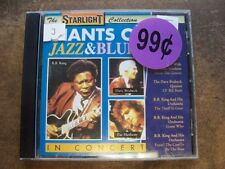 Giants Of Jazz & Blues In Concert (CD, 1993, Galaxi Music) Made in E.E.C