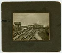 Railroad Station Train Engine # 1436 Vintage Photo with Photographer Notes