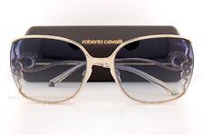 Brand New Roberto Cavalli Sunglasses RC 1012/S 32X Gold/Gray Gradient For Women
