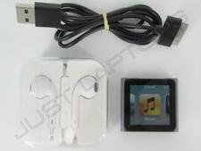 Apple A1366 iPod Nano 8GB 6th Generation SILVER MP3 Player w/ Accessories