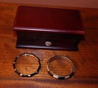 Original Classic Jewelry:  Includes wood Jewelry Box, & Two Bracelets.