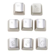 Keyset Zinc CS 8 key caps Cherry MX Keycap Metal mechanical keyboard Key Cap