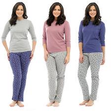 Cotton Blend Long Sleeve Pyjama Sets for Women