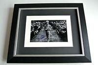 Mark Lester SIGNED 10x8 FRAMED Photo Autograph DisplayOliver Film Musical & COA