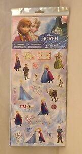 Savvi Disney Frozen Stickers - New - 25 pc