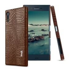 Sony Xperia XZ XZs IMAK Hard Case Ruiyi Series Croco Skin Schutz Hülle Bag Braun