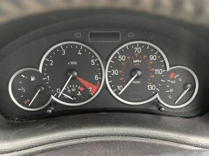 Peugeot 206 CC Dash clocks