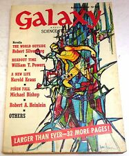 Galaxy Magazine – US digest – Vol.30 No.6 – October-November 1970 - Silverberg