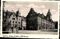 Gotha  Rathaus Ratskeller Schellenbrunnen Echt Fotografie Ansichtskarte AK PK