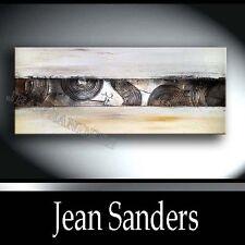 JEAN SANDERS - 120 x 60 cm - mit STRUKTUR ! Malerei Bild Gemälde abstrakt
