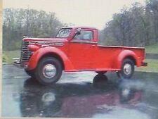 1941 1942 1944 1945 1946 1947 1948 1949  Diamond T Pickup Truck Flat Glass Set