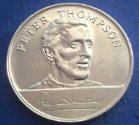 PETER THOMPSON ENGLAND 1970 WORLD CUP SQUAD ESSO COINS / MEDALS