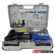Elevador De Carro 2 Tonelada Power Jack Tesoura Elétrica Mudança De Pneu Kit De Ferramentas Chave De Impacto