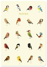 A5 Garden Song Birds Notes Soft Cover Notebook Lined Ruled Exercise Book MSA5001