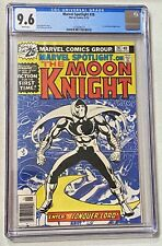 MARVEL SPOTLIGHT on the MOON KNIGHT 28 1st SOLO Story CGC 9.6 WHITE PAGES