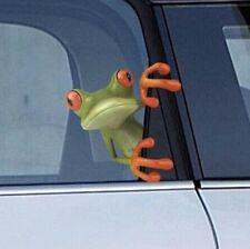 1PCS 3D Drôle Voiture Autocollants Fenêtre Peep Grenouille Auto Graphiques Décor