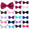 Mens Bowtie Bow Tie Suit Necktie Adjustable Formal Tuxedo Wedding Party Ties