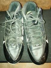 Nike alpha shark FastFlex Football Cleats Size 12 color Black.