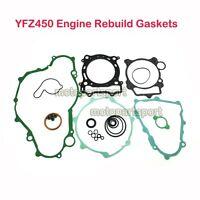 Complete Engine Rebuild Gaskets Seal Kit For Yamaha YFZ450 2006 2007 2008 2009