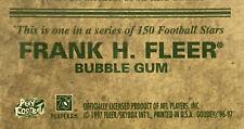 1997 Fleer Goudey Team Sets