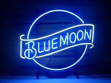 """New Blue Moon Beer Neon Sign 17""""x14"""""""