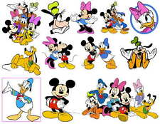 MICKEY MOUSE AND FRIENDS PHOTO-FRIDGE MAGNETS Set of 12