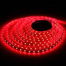 5m 500cm 5050 RED SMD 300 LED Flexible Light Strip Lamp DC 12V