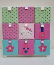 Hello Kitty 9 Drawer Trinket Box Organizer for Jewelry, Hair Accessories ETC.