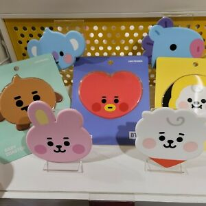 BT21 Baby Silicone Coaster Line friends OFFICIAL BTS