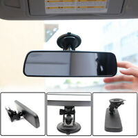 Universal Auto Car Wide Interior Rear View Mirror Suction Stick Clip On Rearview