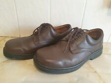 Mens DB Easy B Ryan Brown Leather Touch Fastening Shoes Size 7
