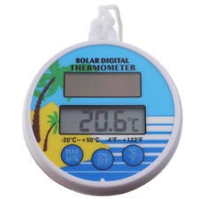 SOLAR POWER SWIMMING POOL THERMOMETER WATER TEMPERATURE FLOATING HOT TUB IN-155