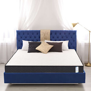 Memory Foam Mattress All Sizes Orthopaedic Quilted Sprung Spring Roll Up Matress