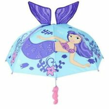 Umbrellas Mermaid Kids Umbrella for Girl Mermaid Umbrella
