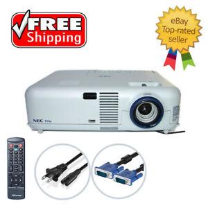 Nec VT46 LCD Projector Portable 4:3 (SVGA) HD 1080i w/Remote TeKswamp