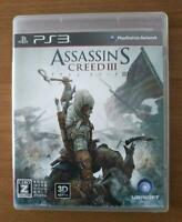 PS3 Assassin's Creed 3 02707 Japanese ver from Japan