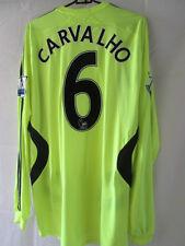 Chelsea 2006-2008 Ricardo Carvalho Formotion Away camiseta de fútbol Grande / 20911 Ls