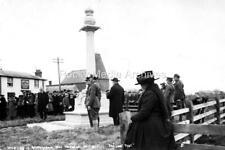 Ztr-59 War Memorial Unveiling, Wittersham, Oxney, Kent. Photo