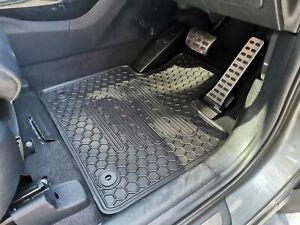 Rugged Rubber Floor Mats Tailored Made for Kia Sorento 2016-21 UM 7 Seats
