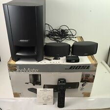 Bose CineMate Home Theatre Speaker System excellent condition boxed with remote