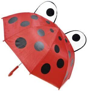 Children's Ladybird Umbrella  45cms, 8 panel