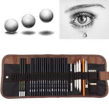 Nouveau 30x en set dessin croquis crayon stylo écriture set créatif étudiant en art uk