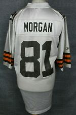 MORGAN #81 CLEVELAND BROWNS AMERICAN FOOTBALL JERSEY MENS 2XL NFL REEBOK